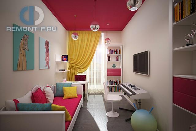 Стиль поп-арт в интерьере детской комнаты для подростка