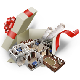 Дизайн-проект интерьера в подарок