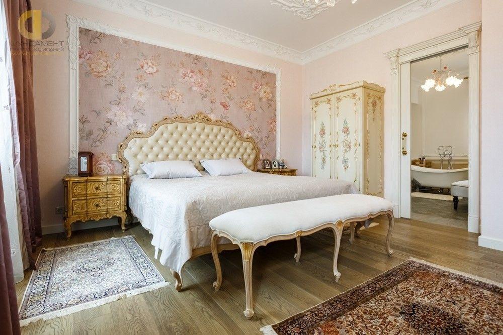 Дизайн спальни в классическом стиле. 26 фото интерьеров
