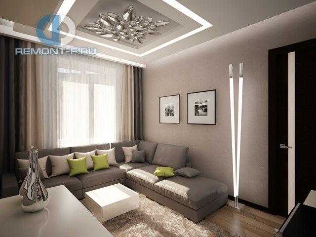 Дизайн двухкомнатной квартиры 60 кв.м. 55 фото