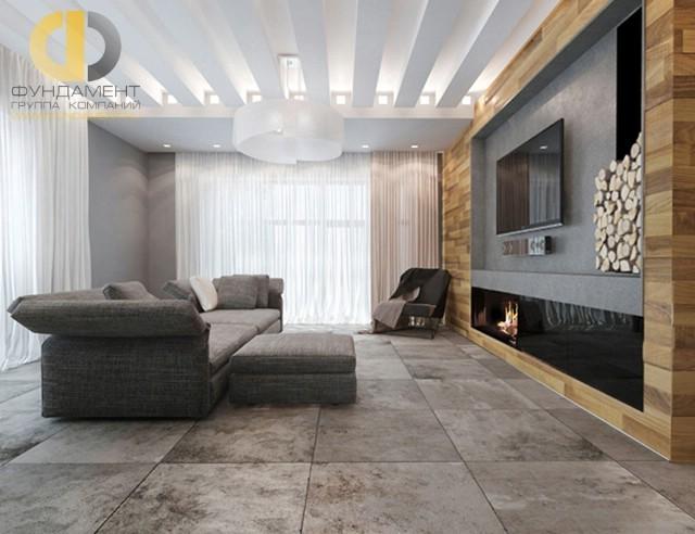Красивый дом в КП «Парк-Авеню». Фото внутри
