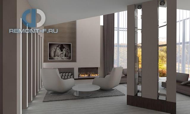 Красивые квартиры. Фото интерьера гоcтиной в современном стиле