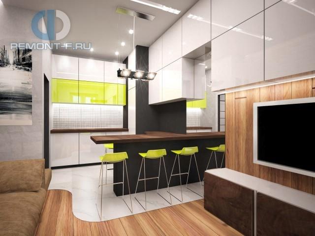 Дизайн интерьера кухни в современном стиле. Фото 2017
