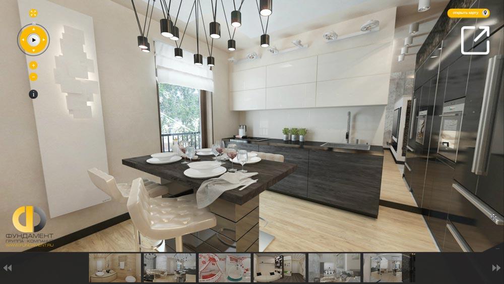 Дизайн интерьера двухуровневой квартиры в 3d – Котельники
