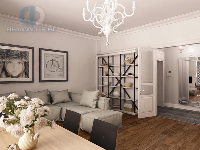 Современные идеи дизайна гостиной. Фото квартиры