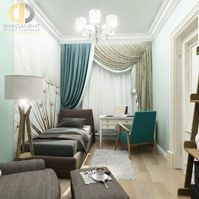 Дизайн 3-комнатной квартиры на ул. Мытной