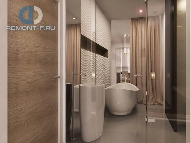Дизайн четырехкомнатной квартиры в ЖК «Авеню 77»