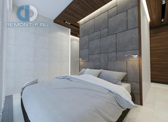 Дизайн спальни в 2-комнатной квартире на ул. Мосфильмовской