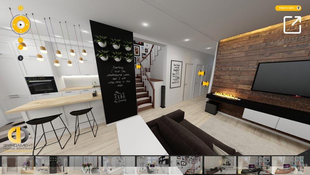 Дизайн интерьера дома в 3d – ЖК «Мечта»