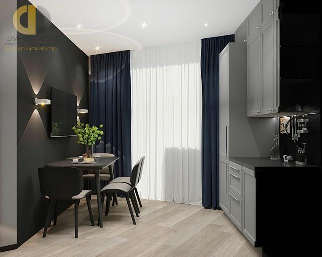 Дизайн кухни 9 кв. м в современном стиле. Фото интерьера 2016