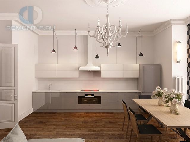 Дизайн белых кухонь в современном стиле фото