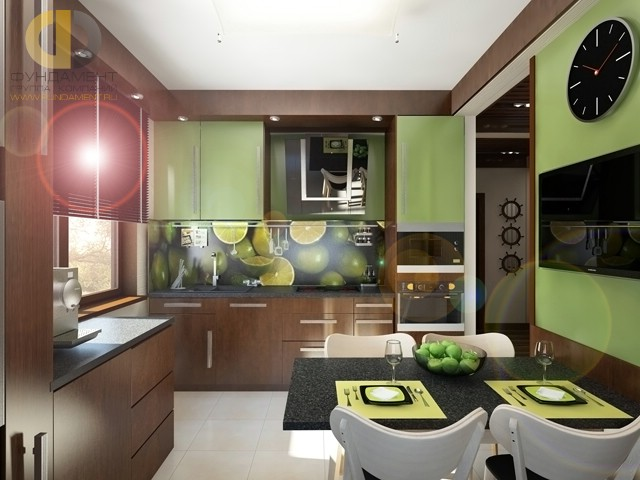 Дизайн кухни 10кв. м.