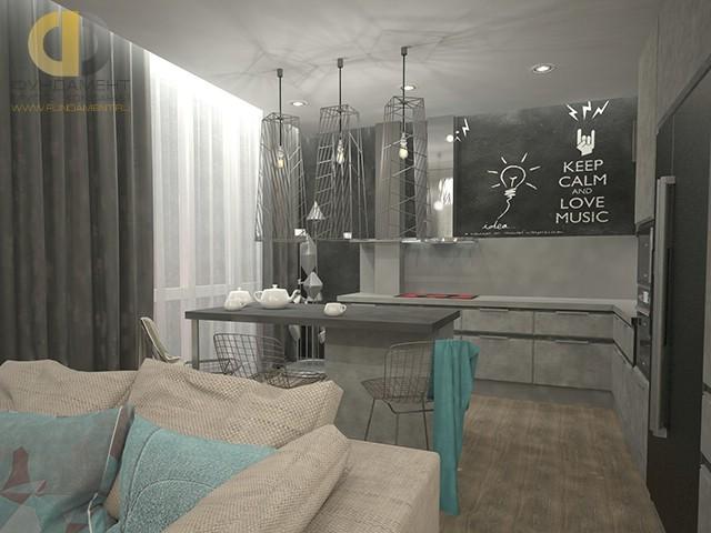 Современная двухкомнатная квартиры в Подольске