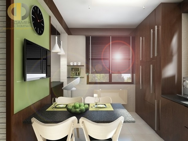 Дизайн кухни 10 кв. м в стиле минимализм. Фото новинок 2016