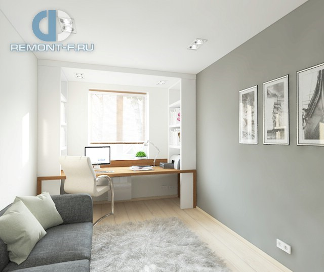 Дизайн небольшого кабинета в доме