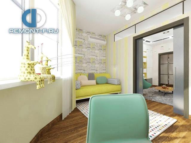 Дизайн трехкомнатной квартиры в Павшинской пойме