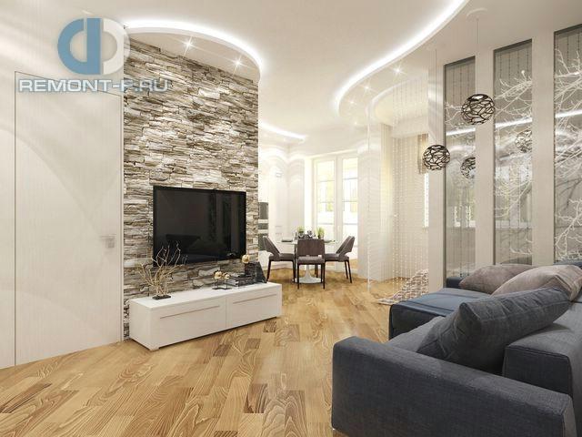 Дизайн 2-комнатной квартиры в экостиле на Путилковском шоссе