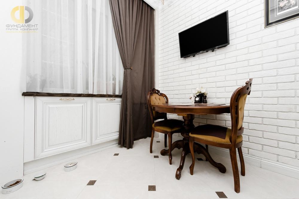 Красивые квартиры. Фото интерьера кухни в неоклассическом стиле