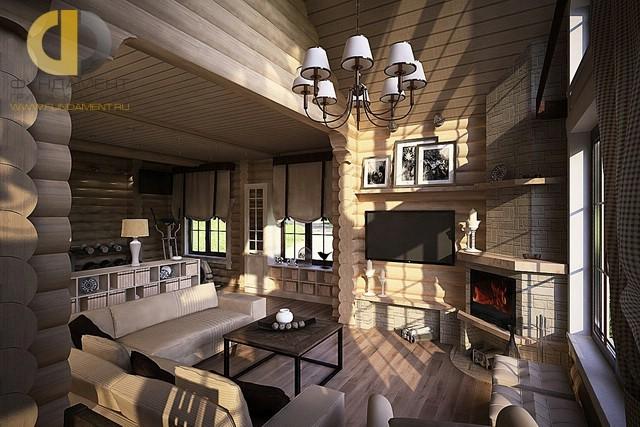 Красивый деревянный дом на ст. Эврика. Фото внутри