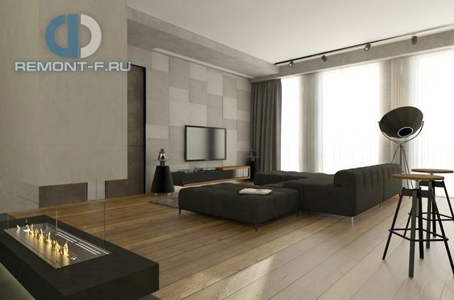 Лаконичный дизайн 2-комнатной квартиры в стиле минимализм на ул. Мосфильмовской