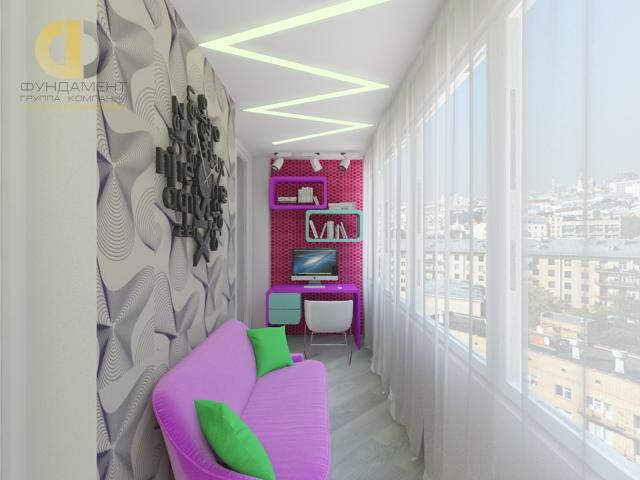 Ремонт в стиле хай-тек. 20 фото квартир в москве.