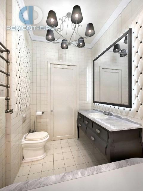 Дизайн ванной комнаты в стиле ретро
