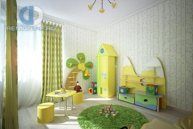 Дизайн игровой зоны в детской для мальчика: фото 2017