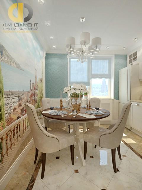 Красивые квартиры. Фото интерьера кухни-гостиной