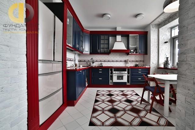 Дизайн интерьера кухни в стиле прованс. Фото 2017