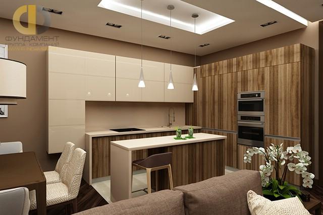 Дизайн кухни 10 кв. м с угловым гарнитуром. Фото новинок 2016