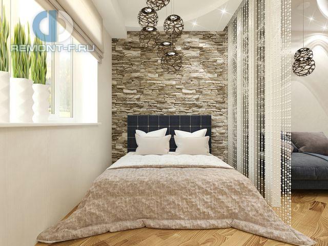 Спальное место в интерьере гостиной