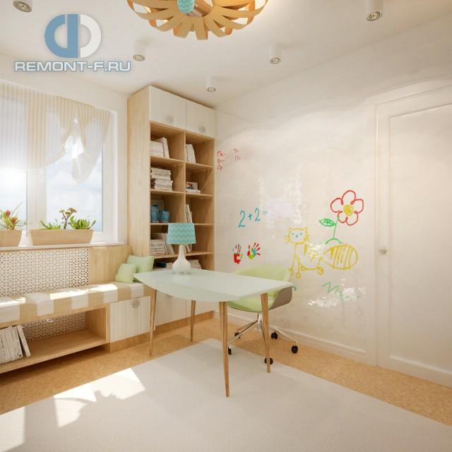 Дизайн рабочего места для ребенка в интерьере детской