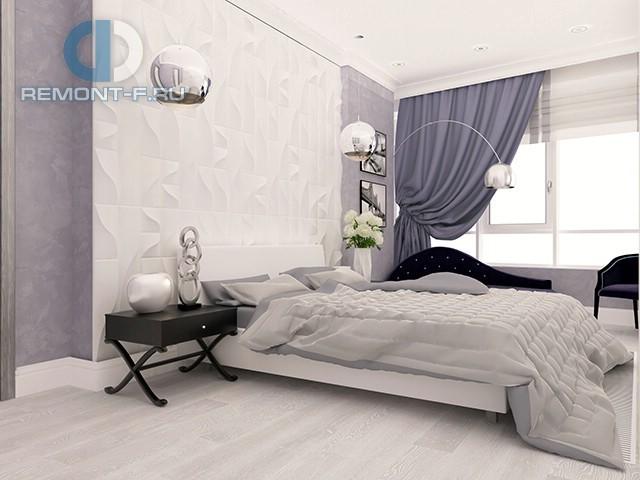 Дизайн интерьера спальни в современном стиле. Фото 2017