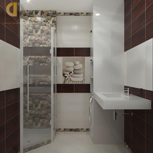 Современные идеи в дизайне минималистичной ванной комнаты. Фото 2016