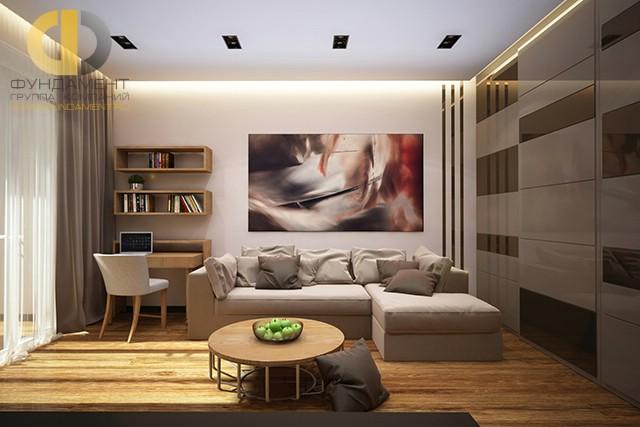 Дизайн гостиной в квартире 2017-2018 современные