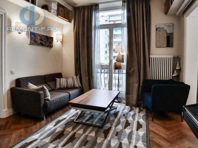 Красивые квартиры. Фото интерьера гостиной в современном стиле