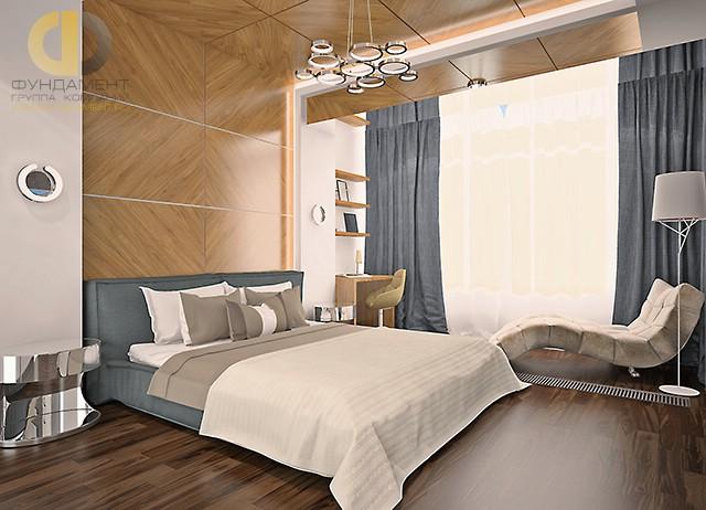 Современные идеи в интерьере спальни с шезлонгом. Фото 2016