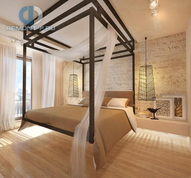 Дизайн спальни 12 кв. м. Фото интерьера в современном стиле