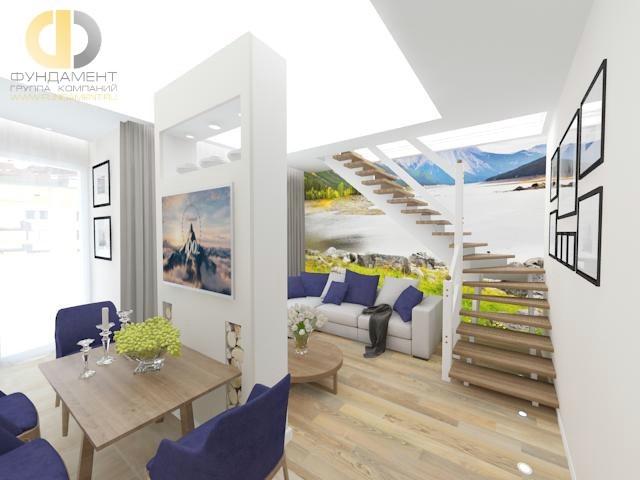 Интерьер современной 2-комнатной квартиры в Балашихе