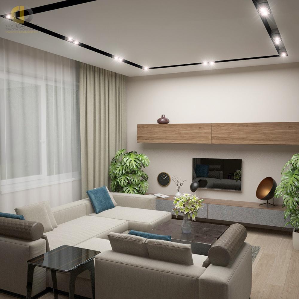 Современный интерьер типовой квартиры