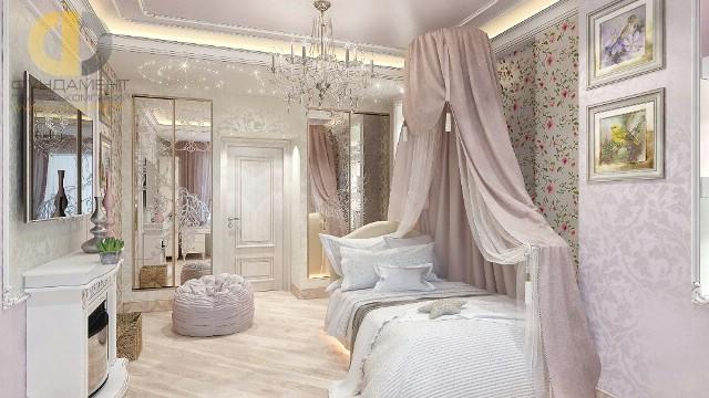Красивые квартиры. Фото интерьера детской спальни на Бажова