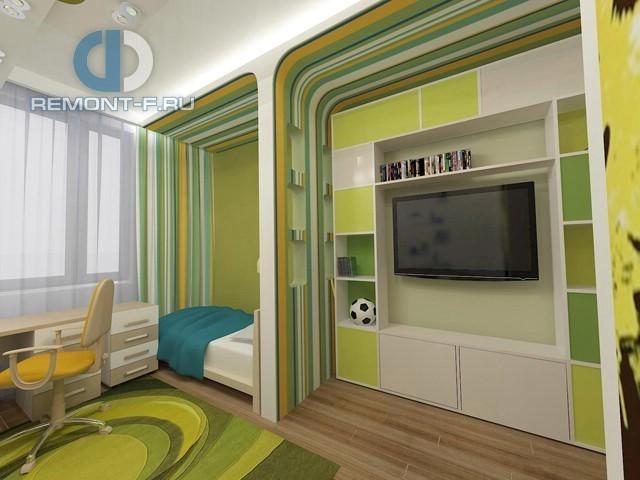Зонирование комнаты для подростка: фото интерьера
