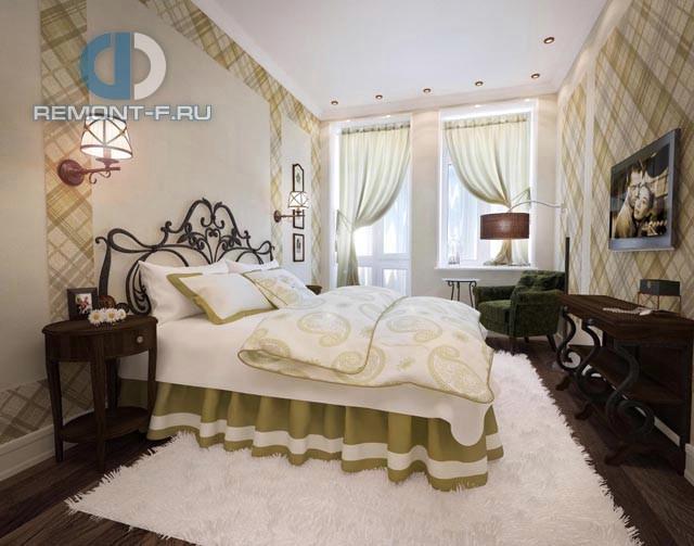 Красивые квартиры. Фото интерьера спальни в Марьиной роще