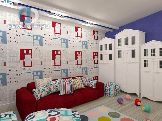 Дизайн игровой зоны в детской для мальчика