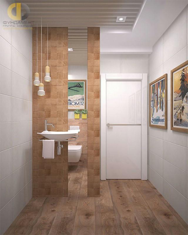 Современные идеи в дизайне ванной комнаты в эко-стиле. Фото 2016