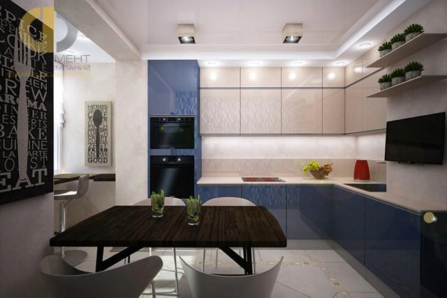 Дизайн кухни 9 кв. м: угловые планировки. Фото интерьера 2016