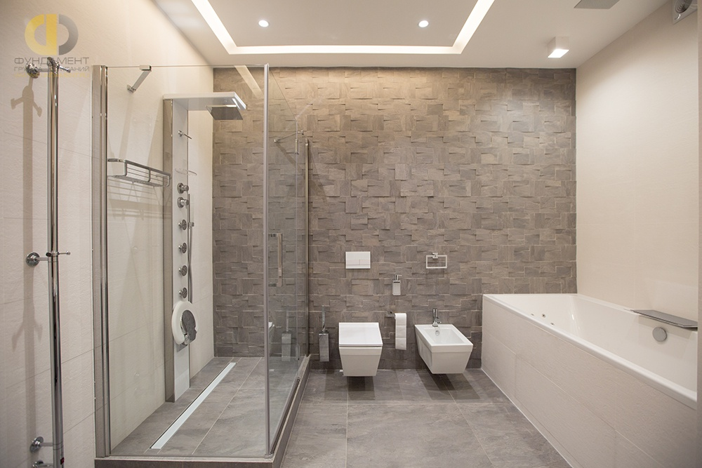 Яркая, красочная и красивая ванная комната: необычные цветовые