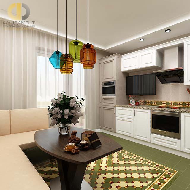 Дизайн кухни 10 кв. м с угловым диваном. Фото новинок 2016