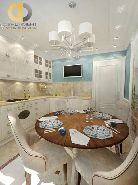 Дизайн кухни 9 кв. м в стиле модерн. Фото интерьера 2016