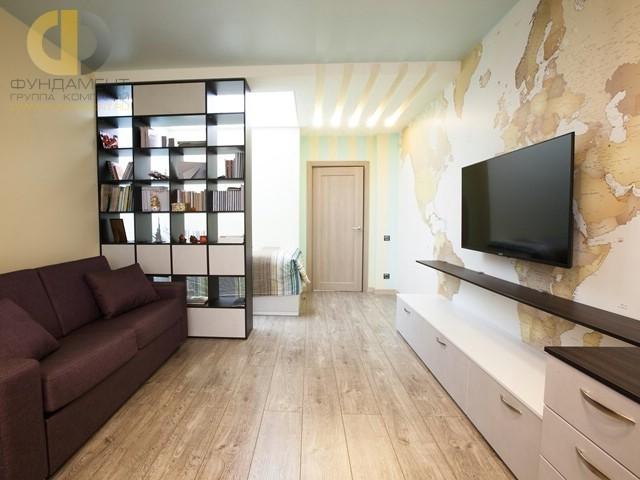 Дизайн комнаты для мальчика подростка в современном стиле. Фото 2017